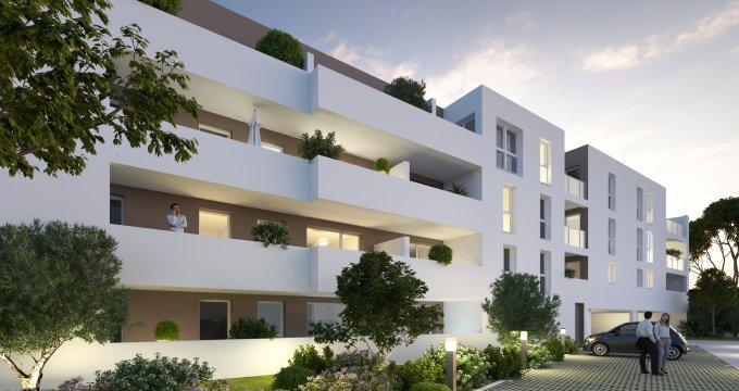 Achat / Vente appartement neuf Agde à 10 min de la mer (34300) - Réf. 5663