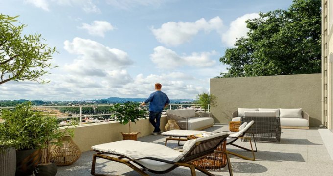 Achat / Vente appartement neuf Béziers à 5min de l'arrêt de bus Garibaldi (34500) - Réf. 5665