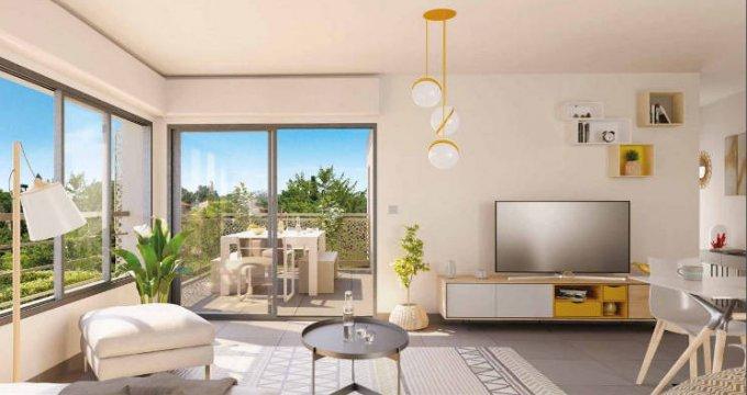 Achat / Vente appartement neuf Frontignan au cœur d'un quartier résidentiel (34110) - Réf. 5643