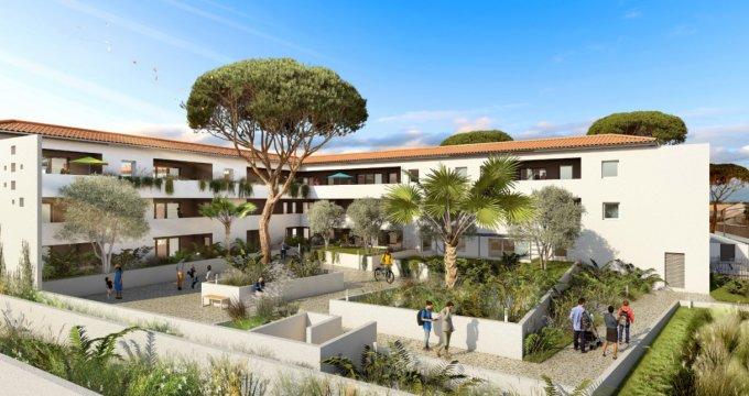 Achat / Vente appartement neuf Lunel proche centre-ville (34400) - Réf. 6113