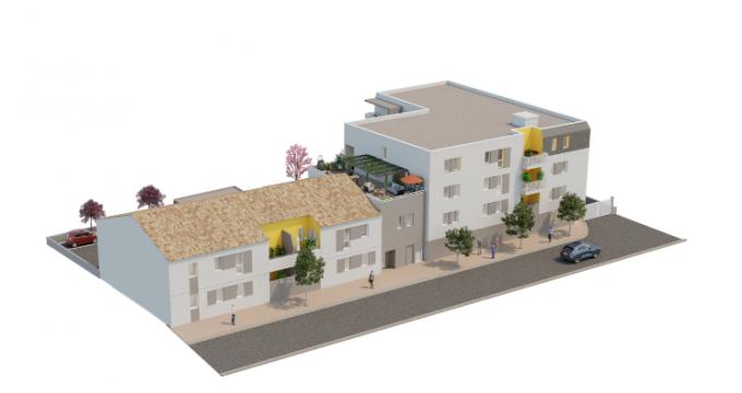 Achat / Vente appartement neuf Mauguio cœur de ville (34130) - Réf. 5015