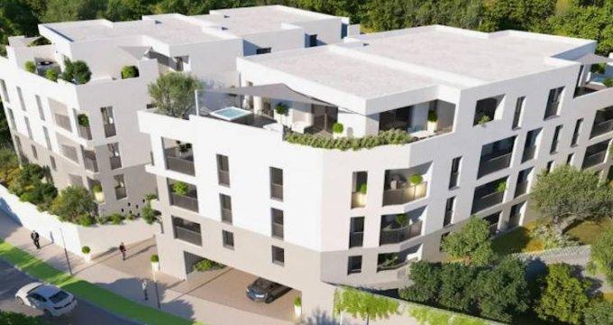 Achat / Vente appartement neuf Montpellier au coeur d'un quartier résidentiel (34000) - Réf. 4180