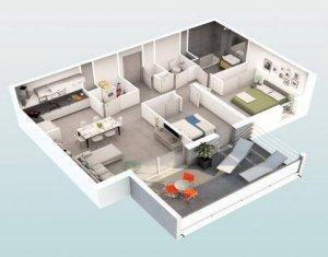 """Achat / Vente appartement neuf Beziers au coeur du quartier """"Les Parcs du Frigoulas"""" (34500) - Réf. 5489"""