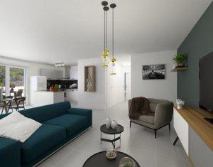 Achat / Vente appartement neuf Castelnau-le-lez proche tram Centurions (34170) - Réf. 5276