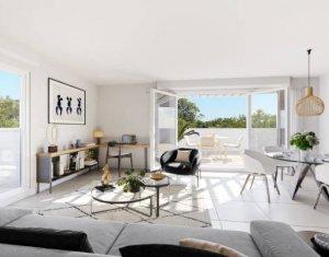 Achat / Vente appartement neuf Castelnau-le-Lez proche tramway La Galine (34170) - Réf. 5947