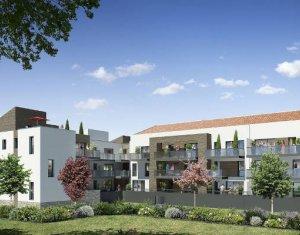 Achat / Vente appartement neuf Saint-Brès au coeur du quartier de Cantaussel (34670) - Réf. 4202