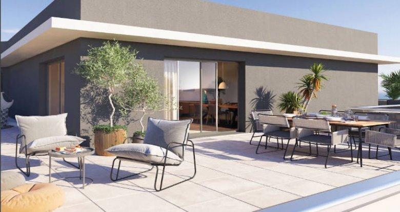 Achat / Vente appartement neuf Baillargues à 20 min de la plage (34670) - Réf. 4889
