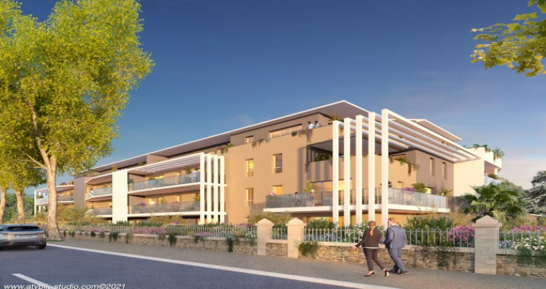 Achat / Vente appartement neuf Baillargues à 500m de la gare (34670) - Réf. 5698
