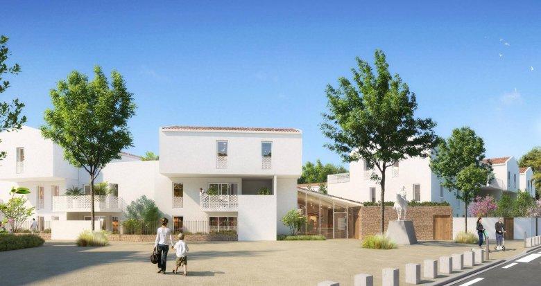 Achat / Vente appartement neuf Baillargues au cœur du quartier Domaine Napoleon (34670) - Réf. 6208