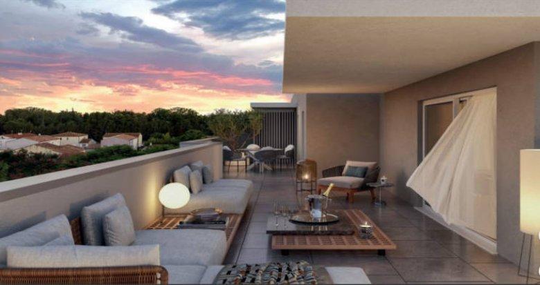 Achat / Vente appartement neuf Baillargues au cœur d'un environnement intimiste (34670) - Réf. 5169