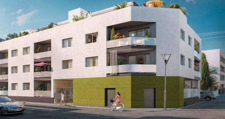 Achat / Vente appartement neuf Castelnau-le-Lez à deux pas du tramway (34170) - Réf. 3049