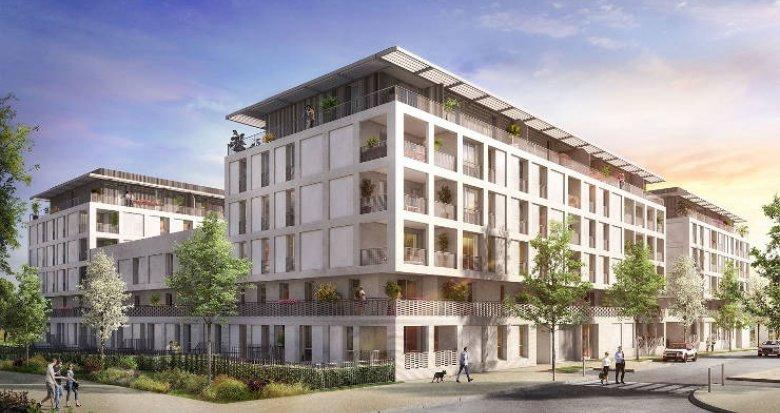 Achat / Vente appartement neuf Castelnau-le-Lez entre le domaine Verchant et le Millénaire (34170) - Réf. 2278