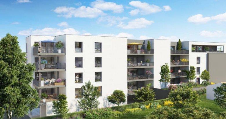 Achat / Vente appartement neuf Castelnau-le-Lez proche tram Charles de Gaulle (34170) - Réf. 5944