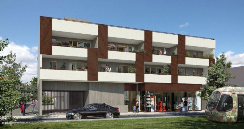 Achat / Vente appartement neuf Castelnau-le-Lez proche tramway (34170) - Réf. 3859