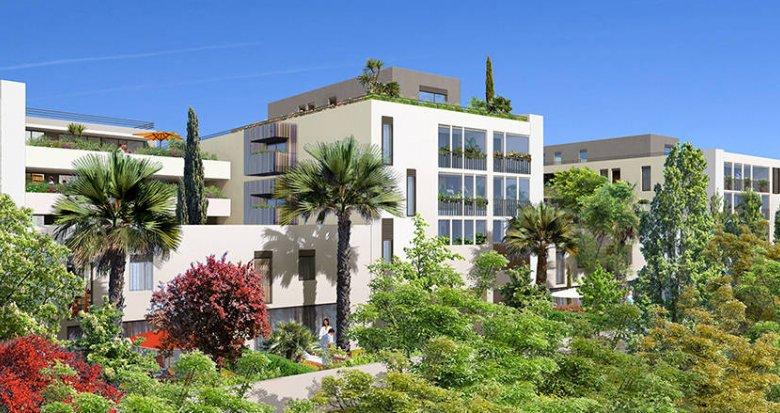 Achat / Vente appartement neuf Castelnau-le-Lez proche tramway (34170) - Réf. 6128