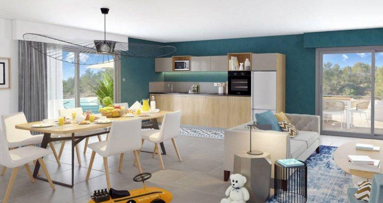 Achat / Vente appartement neuf Grabels proche quartier Euromédecine (34790) - Réf. 3091
