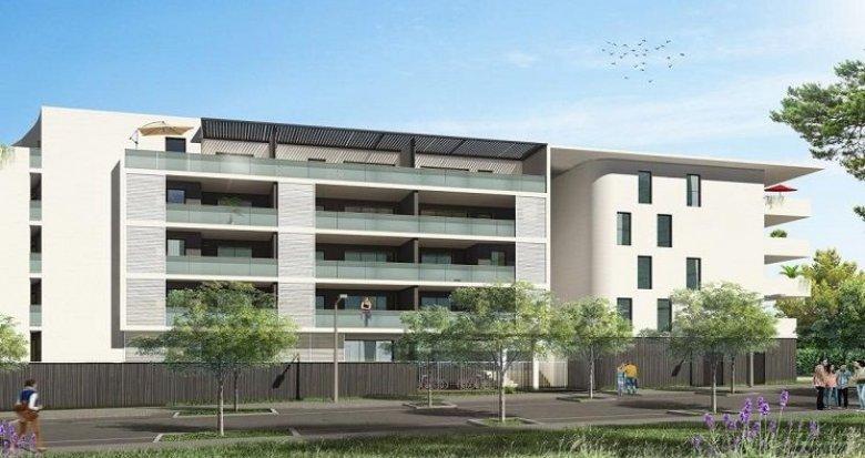 Achat / Vente appartement neuf Juvignac aux portes de Montpellier dans un quartier résidentiel (34990) - Réf. 1486