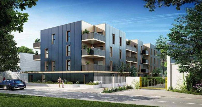 Achat / Vente appartement neuf Lattes au coeur du quartier de Boirargues (34970) - Réf. 6023
