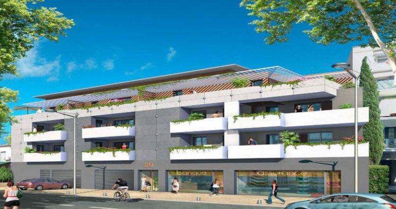 Achat / Vente appartement neuf Lunel cœur centre (34400) - Réf. 3477