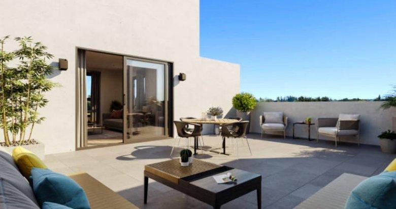 Achat / Vente appartement neuf Marsillargues à 15 min des plages (34590) - Réf. 5162