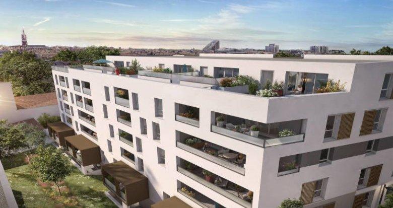 Achat / Vente appartement neuf Montpellier à 5 min à pied de l'écusson (34000) - Réf. 5753