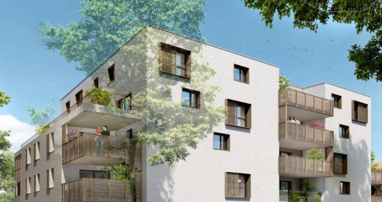 Achat / Vente appartement neuf Montpellier à 5 min du centre historique (34000) - Réf. 5114