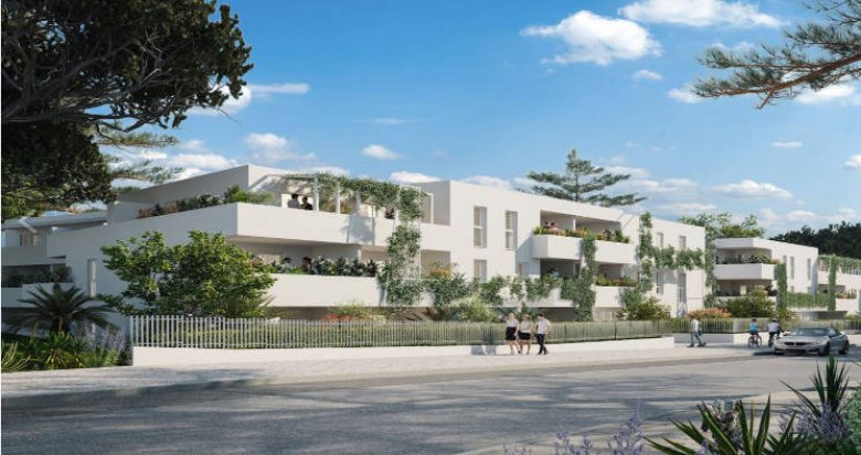Achat / Vente appartement neuf Montpellier au cœur du Mas de Bagnère (34000) - Réf. 4996