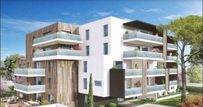 Achat / Vente appartement neuf Montpellier au cœur du quartier Aiguelongue (34000) - Réf. 4589