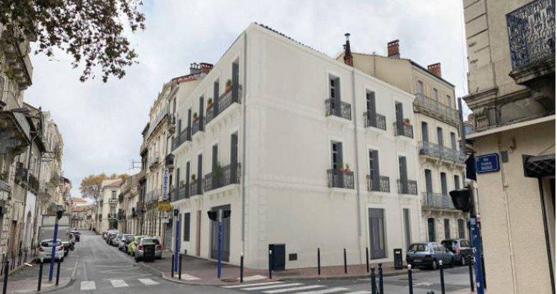 Achat / Vente appartement neuf Montpellier au cœur du quartier de la gare (34000) - Réf. 5495
