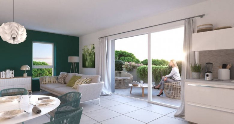 Achat / Vente appartement neuf Montpellier au coeur du quartier Lemasson (34000) - Réf. 4888