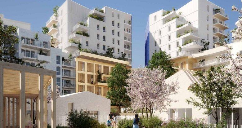 Achat / Vente appartement neuf Montpellier au coeur d'un éco-quartier (34000) - Réf. 4866