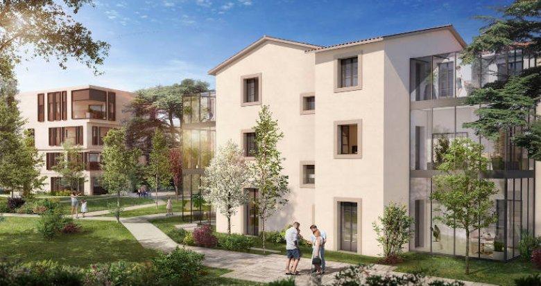 Achat / Vente appartement neuf Montpellier au cœur d'un parc classé (34000) - Réf. 4890