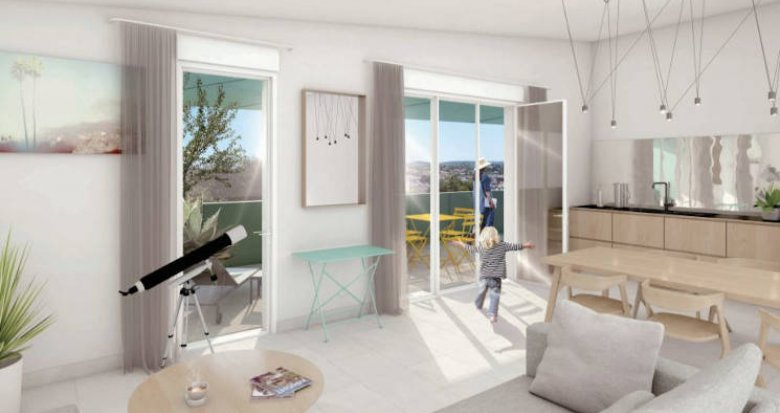 Achat / Vente appartement neuf Montpellier au pied du tramway (34000) - Réf. 4716