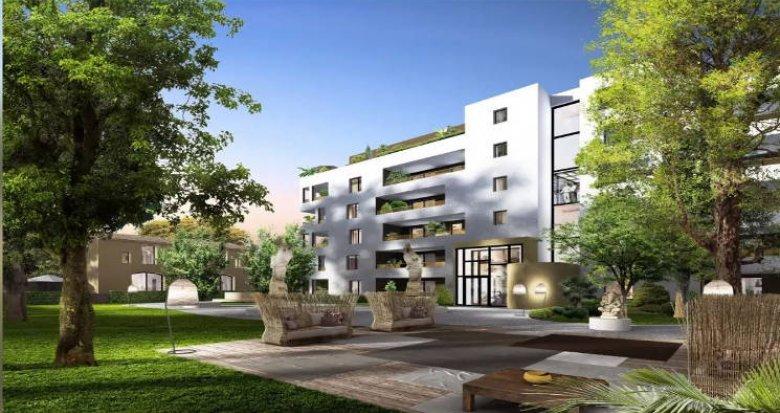 Achat / Vente appartement neuf Montpellier cœur du quartier La Pompignane (34000) - Réf. 4590