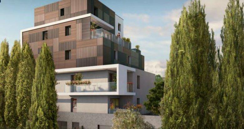 Achat / Vente appartement neuf Montpellier cœur quartier Aiguelongue (34000) - Réf. 2930