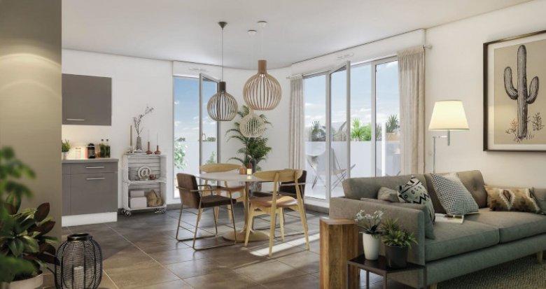 Achat / Vente appartement neuf Montpellier Croix d'Argent (34000) - Réf. 5401