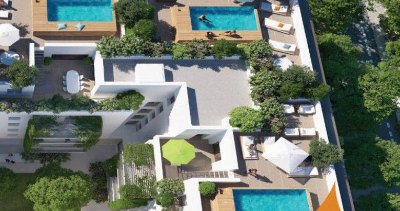 Achat / Vente appartement neuf Montpellier - EAI- belles terrasses (34000) - Réf. 5076