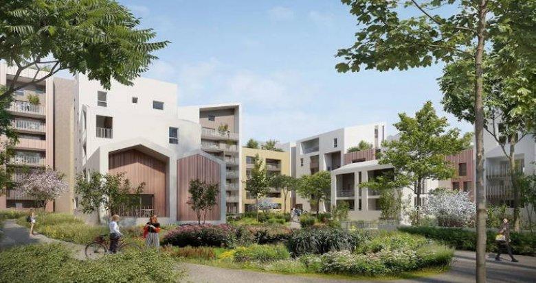 Achat / Vente appartement neuf Montpellier écoquartier à proximité du tramway (34000) - Réf. 4748