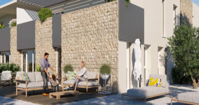 Achat / Vente appartement neuf Montpellier proche Château de la piscine (34000) - Réf. 5166
