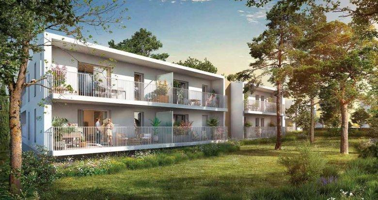Achat / Vente appartement neuf Montpellier proche CHU et Universités (34000) - Réf. 6295