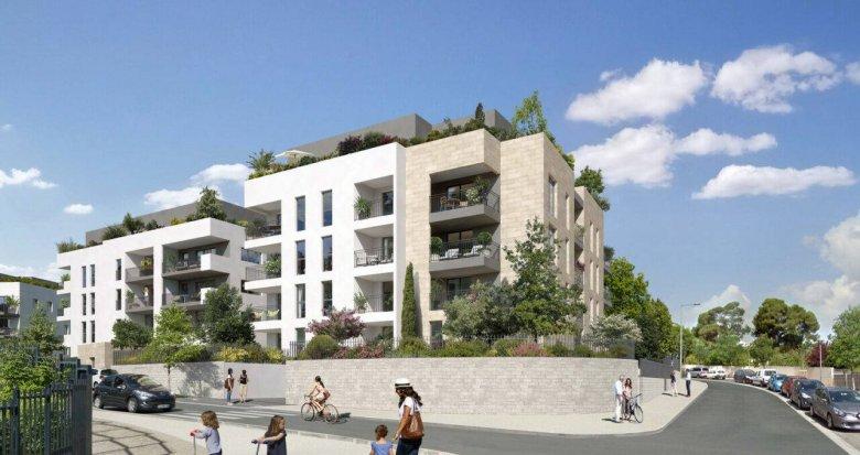 Achat / Vente appartement neuf Montpellier proche Polyclinique Saint Roch (34000) - Réf. 6231