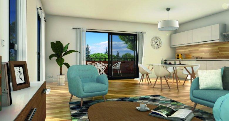 Achat / Vente appartement neuf Montpellier proche universités quartier Boutonnet (34000) - Réf. 6238