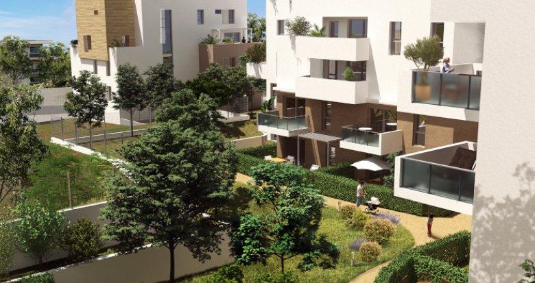 Achat / Vente appartement neuf Montpellier quartier de La Pompignane (34000) - Réf. 5551