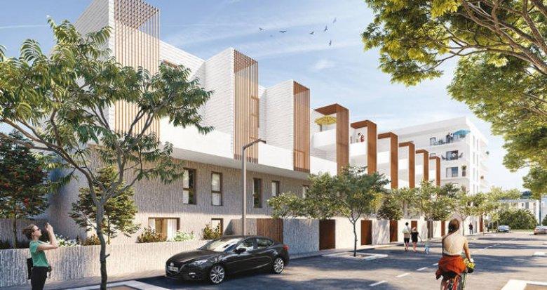 Achat / Vente appartement neuf Montpellier quartier des Prés d'Arènes (34000) - Réf. 3719