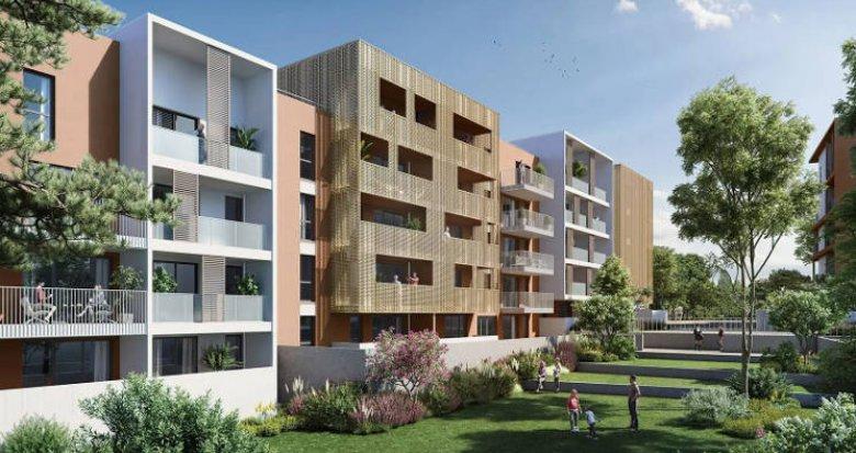 Achat / Vente appartement neuf Montpellier secteur Euromedecine (34000) - Réf. 5493