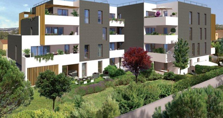 Achat / Vente appartement neuf Montpellier secteur Port Marianne (34000) - Réf. 4588