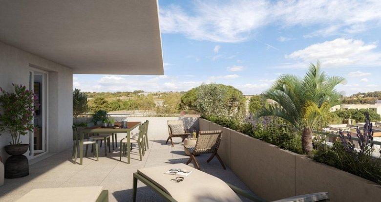 Achat / Vente appartement neuf Montpellier village intime (34000) - Réf. 6027