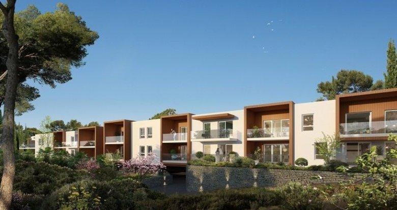 Achat / Vente appartement neuf Prades-le-Lez à 100 mètres cœur de village (34730) - Réf. 1086