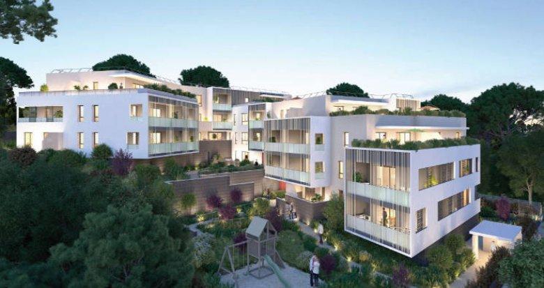 Achat / Vente appartement neuf Saint-Aunès au cœur de la ZAC des Châtaigniers (34130) - Réf. 5141