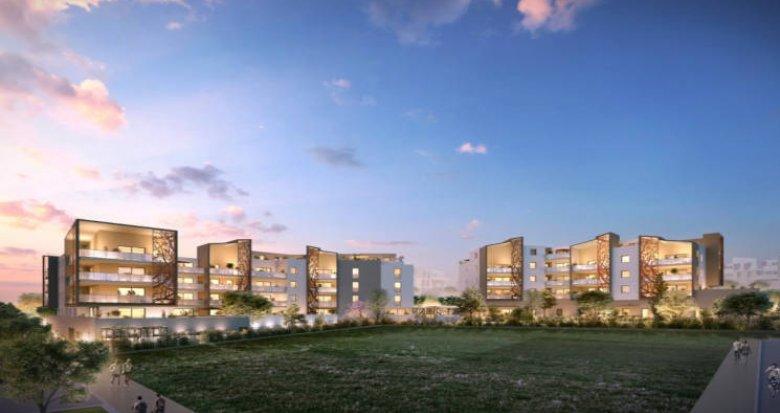 Achat / Vente appartement neuf Saint-Jean-de-Vedas eco quartier Roque-Fraisse (34430) - Réf. 3478